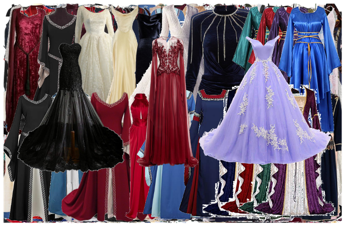 My collections- Dresses