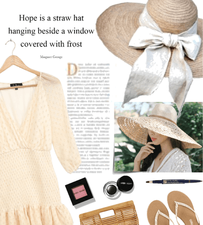 Straw Hat for Spring
