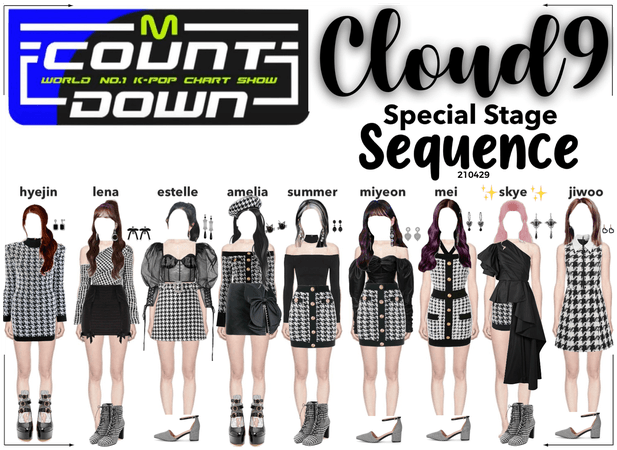 Cloud9 (구름아홉) | [M Countdown] Special Stage