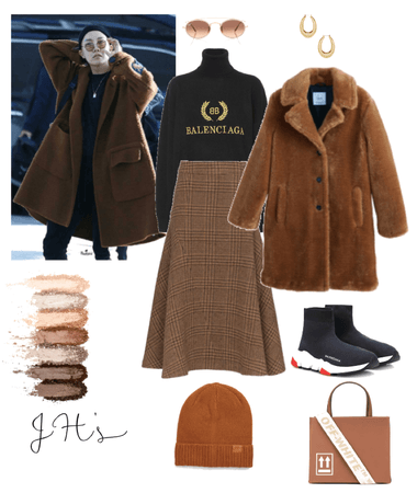 hoseok's gf winter outfit idea