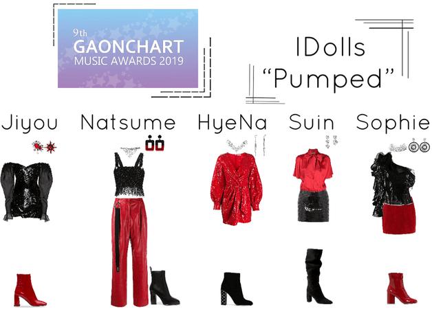 "IDolls 9th Gaon Chart Awards ""Pumped"" Performance"