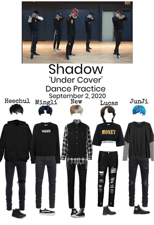 Shadow 'Under Cover' Dance Practice