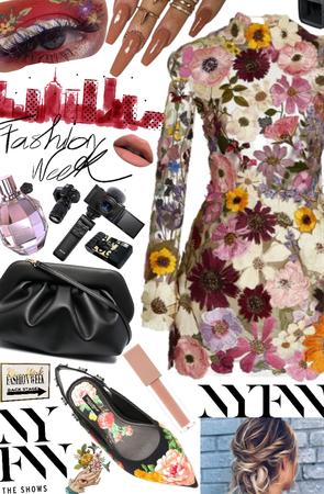 New York fashion week 💜🎥