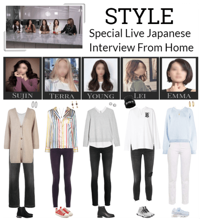 STYLE Special Live Japanese Interview