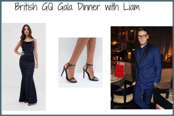 British GQ Gala Dinner with Liam (Boyfriend)