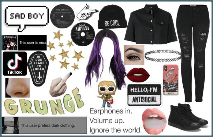 Egirl/Grunge Girl