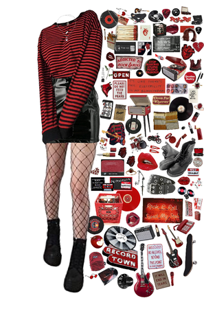 rock n roll red