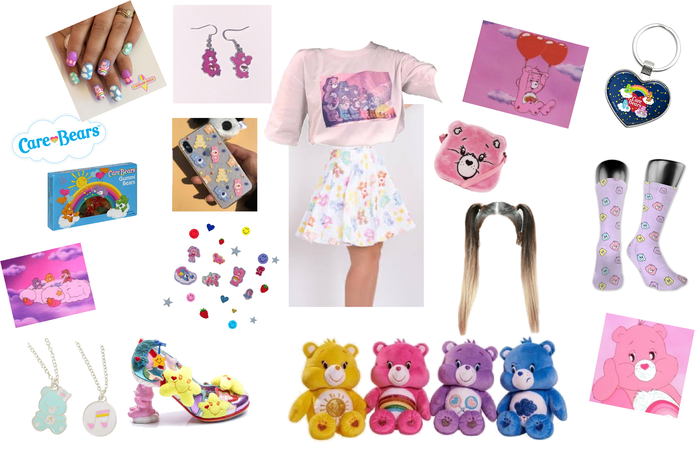 Care Bears outfit -for challenge-
