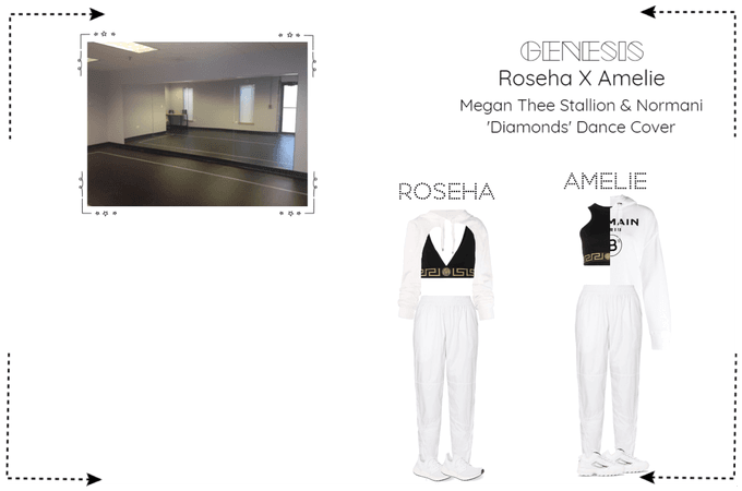 GENESIS (게네시스) Roseha x Amelie 'Diamonds' Cover