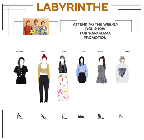 LABYRINTHE on the weekly idol show
