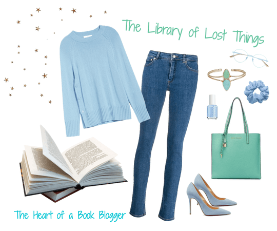 The Library of Lost Things Book Look