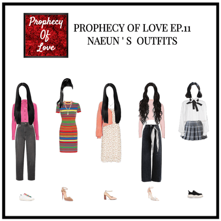 PROPHECY OF LOVE EP.11 OUTFITS