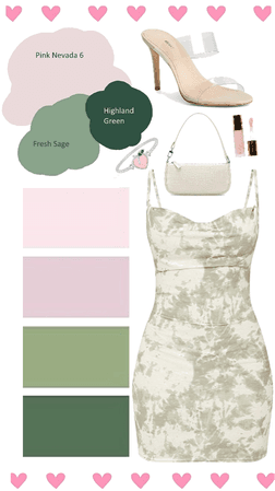 Green Tye-Dye