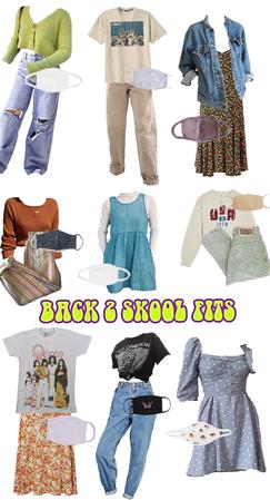 back 2 skool outfits
