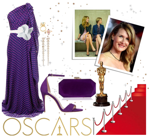 Laura at the Oscars