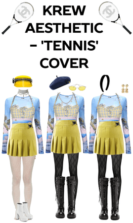 AESTHETIC - 'Tennis' Cover