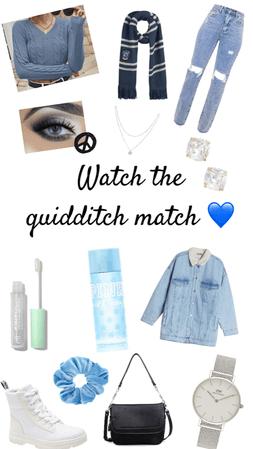 Thalya Collection ~ Watch the quidditch match