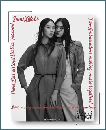 Somi&Nabi For Bazaar China Magazine During