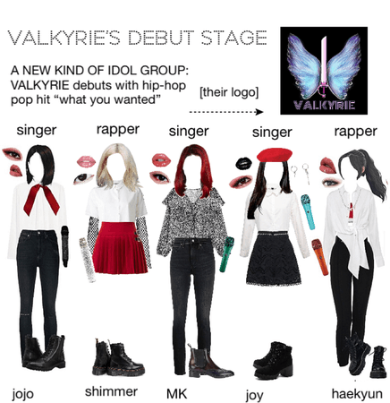 VALKYRIE DEBUT STAGE