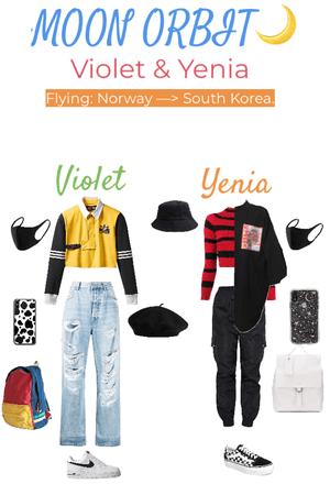 2020.06.04 - Violet & Yenia back to Korea [MOON ORBIT🌙]