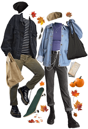 denim in the fall