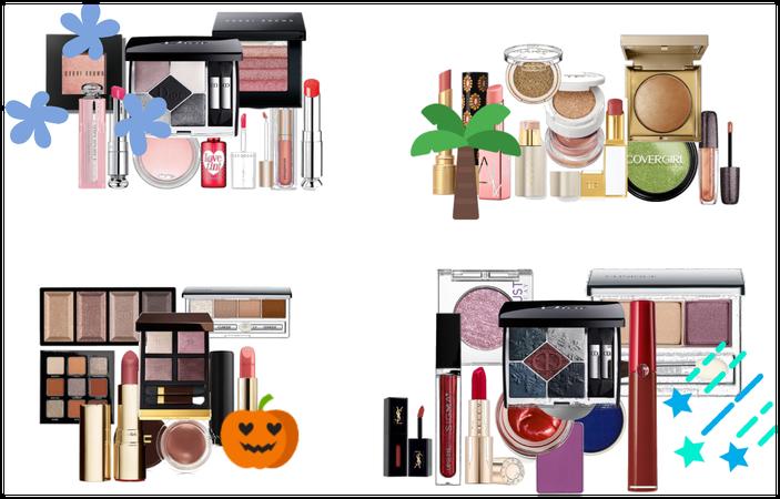 Make-up through the seasons