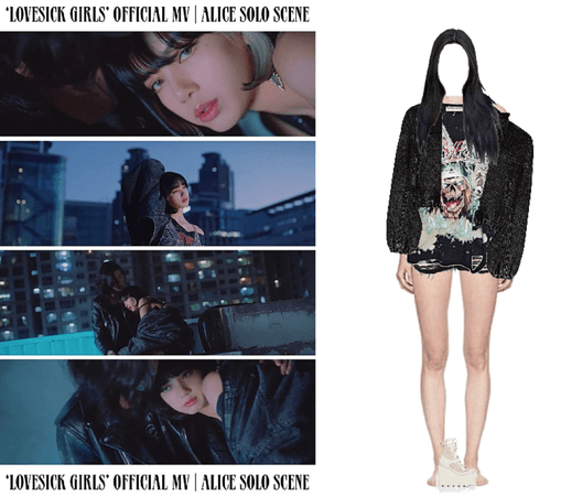 [HEARTBEAT] 'LOVESICK GIRLS' OFFICIAL MUSIC VIDEO   ALICE FIRST SOLO SCENE