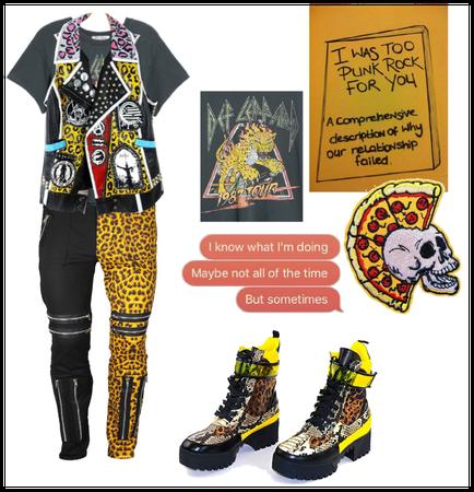 Oc (Mac) Pet Cheetah outfit