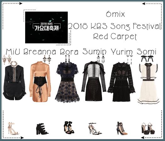 《6mix》2018 KBS Song Festival Red Carpet