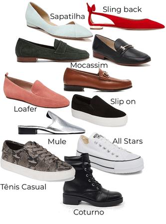 calçados comfy