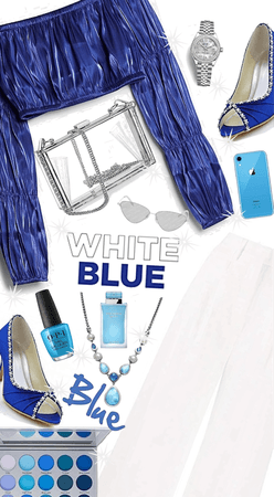 💙blue and white🤍