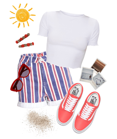 Summer Boardwalk Outfit