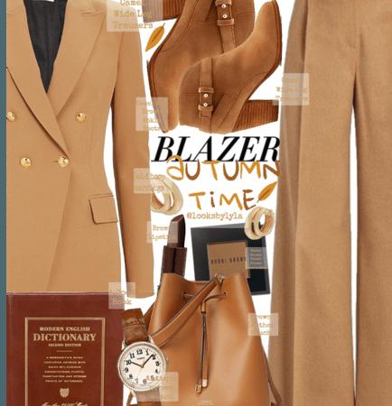 Blazer autumn. Time