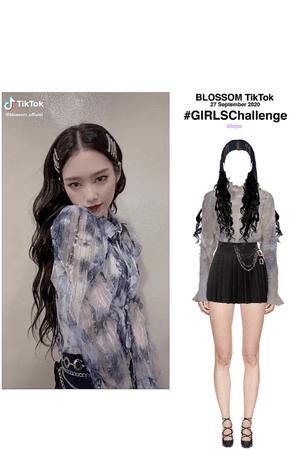 BLOSSOM ( 벨옸옴 ) Minjun 민준 #GirlsChallenge TikTok Video