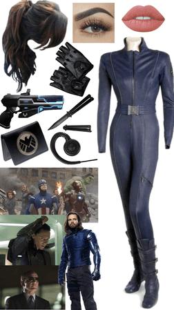 shield agent oc// combat gear