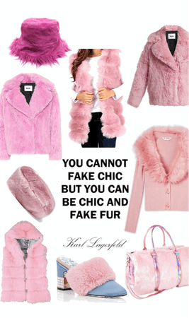 Be Chic and Fake Fur