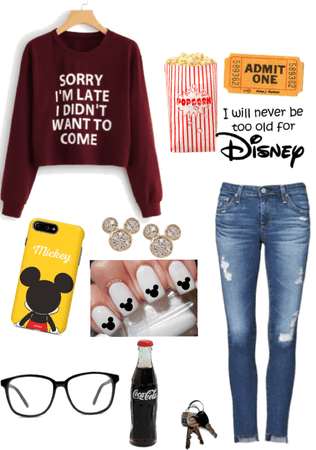 time to watch a Disney movie