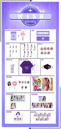 MARIONETTE (마리오네트) Official Concert Merchandise | ❝𝐖 𝐈 𝐒 𝐇❞ - FESTA 2020