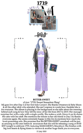 BITTER-SWEET [비터스윗] (MJ) vLive App 200721