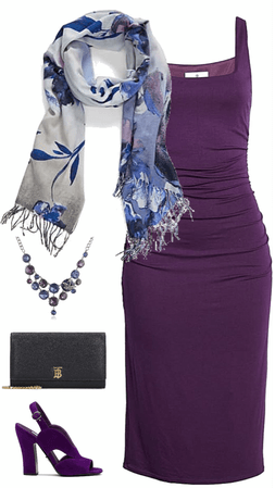 Summer Cocktail Party in Purple