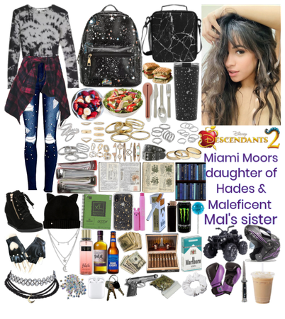 Miami Moors - daughter of Hades & Maleficent