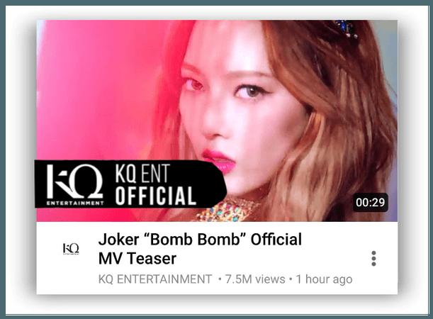"""{RoSE} [Joker] """"Bomb Bomb"""" Official MV Teaser"""