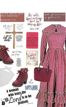 Holy Bible Lover! Conservative Modest  Attire