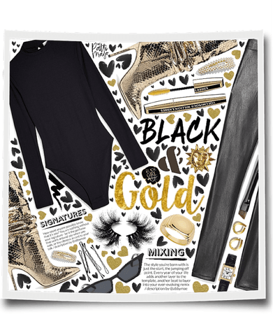 Gold & Black 🥂
