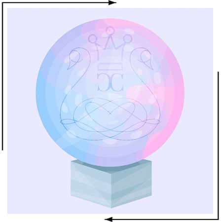 Crystal Covet - Official Survival Show Logo