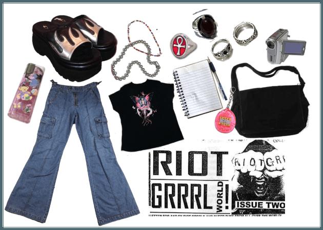riot grrrl!