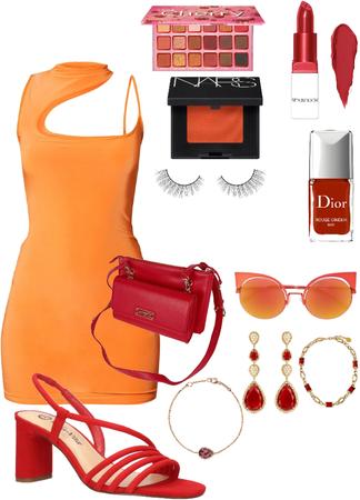 Red Orange Fun