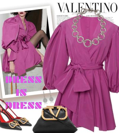 VALENTINO- DRESS IS DRESS