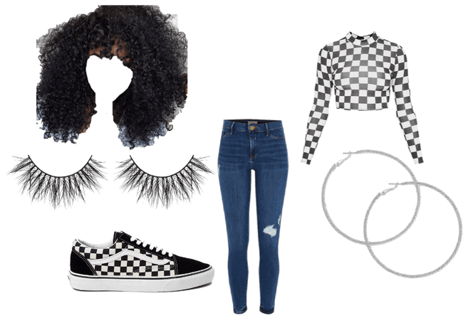 checkers outfit