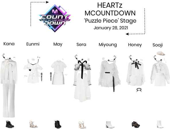 HEARTz//'Puzzle Piece' MCOUNTDOWN Stage